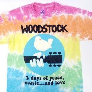 Liquid Blue Woodstock Tie Dye TShirt S 2016 Music